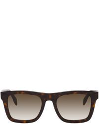 Alexander McQueen Shiny Square Sunglasses