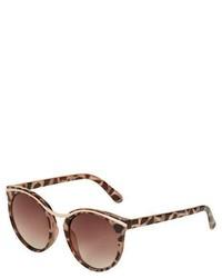 Topshop Siren Round Sunglasses