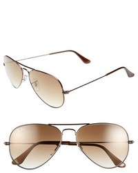 Ray-Ban Small Original 55mm Aviator Sunglasses Arista