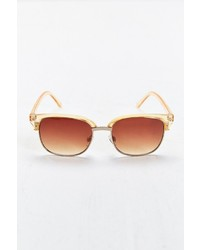 Urban Outfitters Amber Lens Round Sunglasses