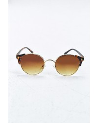 Urban Outfitters Bald Round Sunglasses