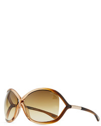 Tom Ford Whitney Cross Bridge Sunglasses Rosebrown