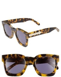 Karen Walker X Monutal Pablo 50mm Polarized Sunglasses Crazy Tortoise