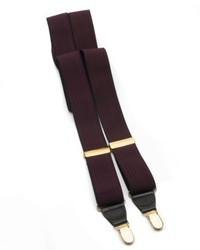 Club Room Elastic Clip On Suspenders