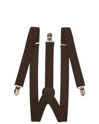 Private Island Clip On Elastic Suspenders Adjustable