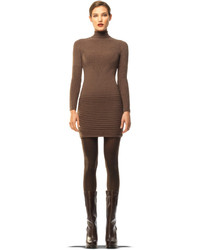 Brown sweater dress original 10228186