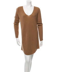 Balenciaga Camel Sweater Dress