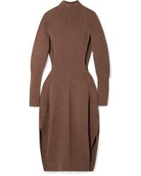 Chloé Cutout Knitted Midi Dress
