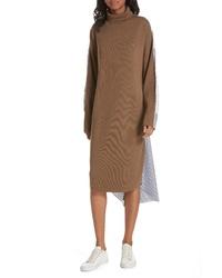 Tibi Mixed Media Dress