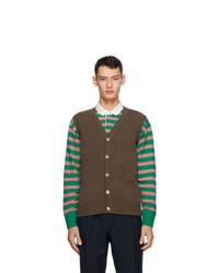 Drakes Brown Geelong Vest
