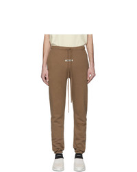 Essentials Tan Fleece Lounge Pants