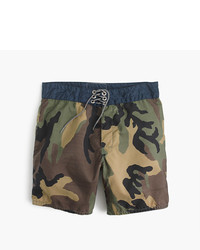 Birdwell For Jcrew Board Short In Camo