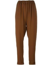 Lucio vanotti elasticated tapered trousers medium 6726686
