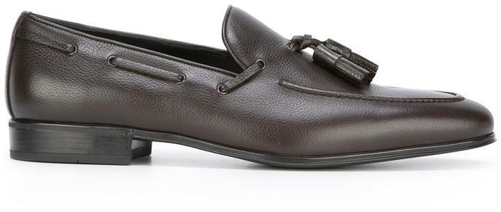 Salvatore FerragamoTassel detail loafers 2FrMo