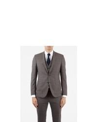 Ben Sherman Prince Of Wales Check Suit Jacket