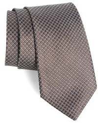 Shop decent neat geometric silk tie medium 1157669