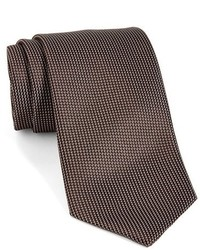 Solid woven silk tie medium 1157670
