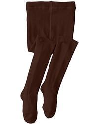 Jefferies Socks Girls Seamless Organic Cotton Tights