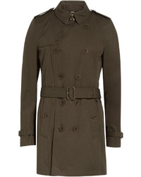Burberry Brit Cotton Trench Coat