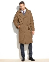 London Fog Coat Iconic Belted Trench Raincoat