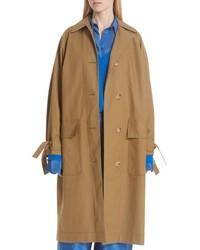 Christian Wijnants Tie Cuff Trench Coat