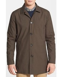 Topman Single Breasted Trench Coat X Small