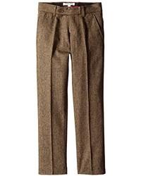 Isaac Mizrahi Big Boys Slim Big Boys Wool Blend Tweed Pant