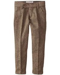 Isaac Mizrahi Little Boys Slim Fit Wool Blend Tweed Pant