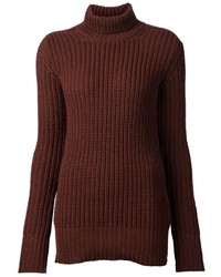 Rick Owens Funnel Neck Sweater