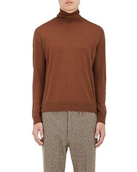 Virgin wool turtleneck sweater medium 6750846