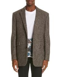Calvin Klein 205W39nyc Tweed Wool Jacket