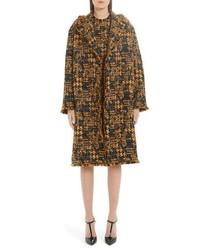 Dolce & Gabbana Oversize Tweed Coat