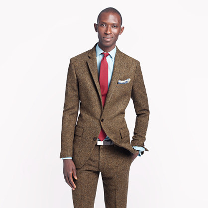Ludlow Suit Jacket With Double Vent In English Tweed | Where to ...