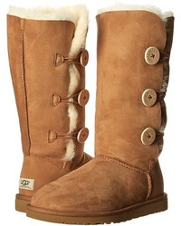 UGG Bailey Button Triplet Boots