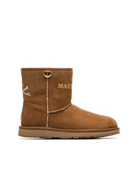 Mastermind Japan Brown X Ugg Suede Logo Boots