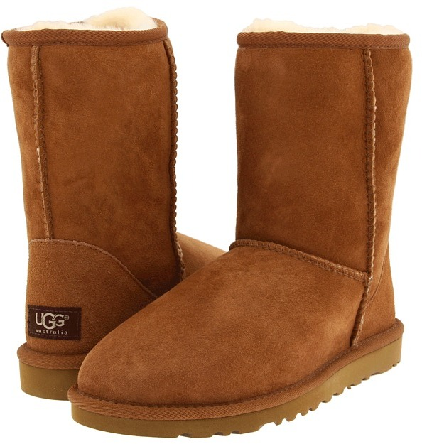 ... Brown Uggs UGG Classic Short Pull On Boots ...