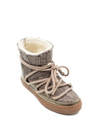 Inuikii Galway Genuine Sheepskin Sneaker Boot