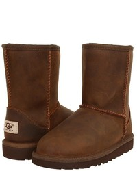 UGG Kids Classic Short Leather Kids Shoes