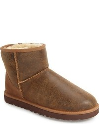 Ugg Classic Mini Bomber Boot With Genuine Shearling Or Uggpure Lining