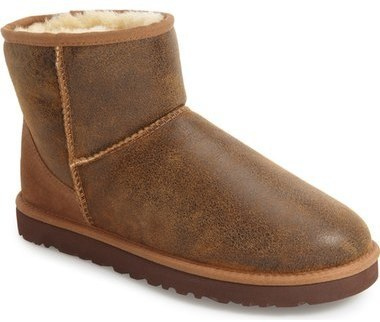 ... UGG UGG(R) Classic Mini Bomber Boot with Genuine Shearling or UGGpure(TM
