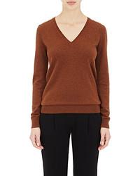 Barneys New York Cashmere V Neck Sweater