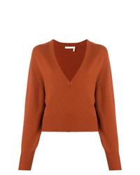 Chloé Deep V Neck Sweater