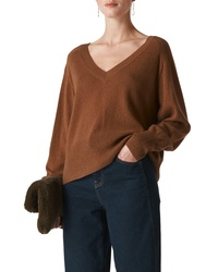 Whistles Oversize Cashmere Wool Sweater
