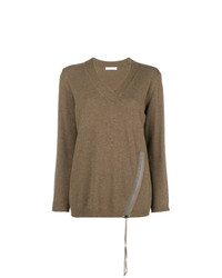 Fabiana Filippi Side Zip Knit Sweater