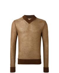 Al Duca D'Aosta 1902 V Neck Sweater
