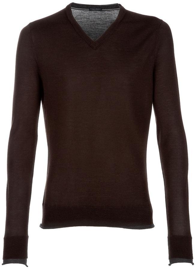 Paolo Pecora V Neck Sweater