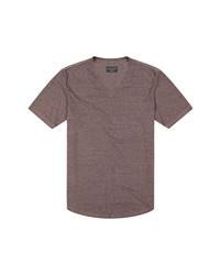 Goodlife Overdyed Triblend Scallop V Neck T Shirt