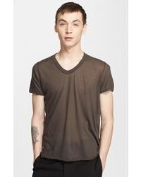 Rick Owens V Neck T Shirt