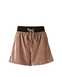 Olympiah Velvet Shorts