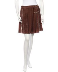 Velvet skirt medium 194576